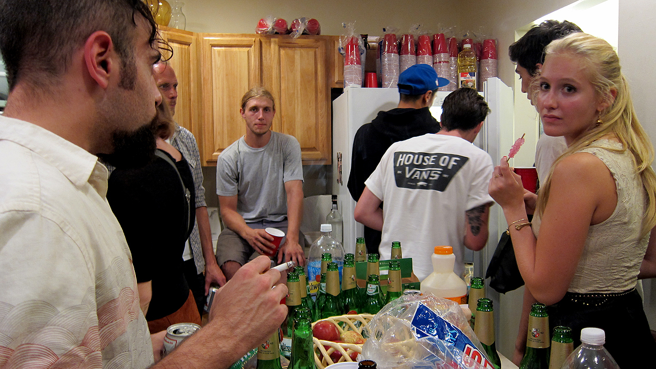 THE 21 TYPES OF PEOPLE AT EVERY HOUSE PARTY